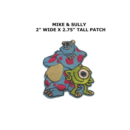 Disney Monsters Inc Sully   Mike Iron Or Sew On Patch