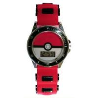 Pokemon Boys LCD Watch (Red Pokeball)