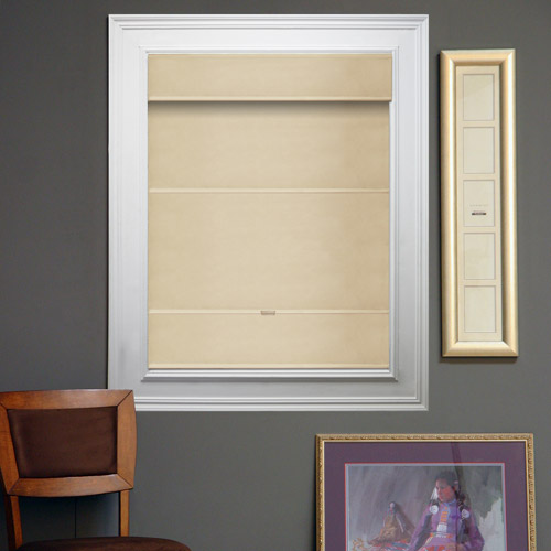 Chicology Cord-Free Magnetic Roman Shade