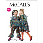 Mccall's Pattern Children's And Girls' T