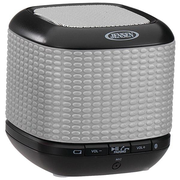 Jensen Smps-621-s Portable Bluetooth[r] Wireless Speaker [silver]