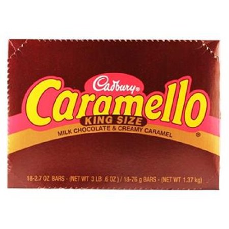 Caramello Bar - CARAMELLO Milk Chocolate Bar (2.7-Ounce, Pack of 18)