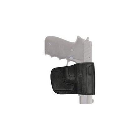 Tagua BSH-200 UA Belt Slide Holster RH 1911 Gov  Leather Black Gun Holster