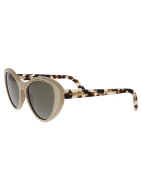 0f168adc0f Product Image Prada Brown Cat Eye Sunglasses PR 14US 02R5S2 55