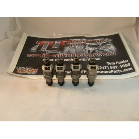 Mitsubishi Lancer EVO 4G63 Turbo set of 4# 720cc Fuel Injectors Low Impedance