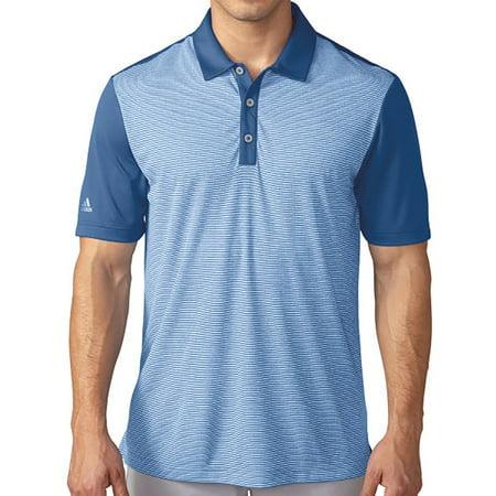 Adidas Golf ClimaChill Heathered Stripe Polo - Closeout