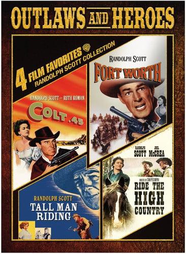 4 Film Favorites: Randolph Scott Westerns by WARNER HOME VIDEO