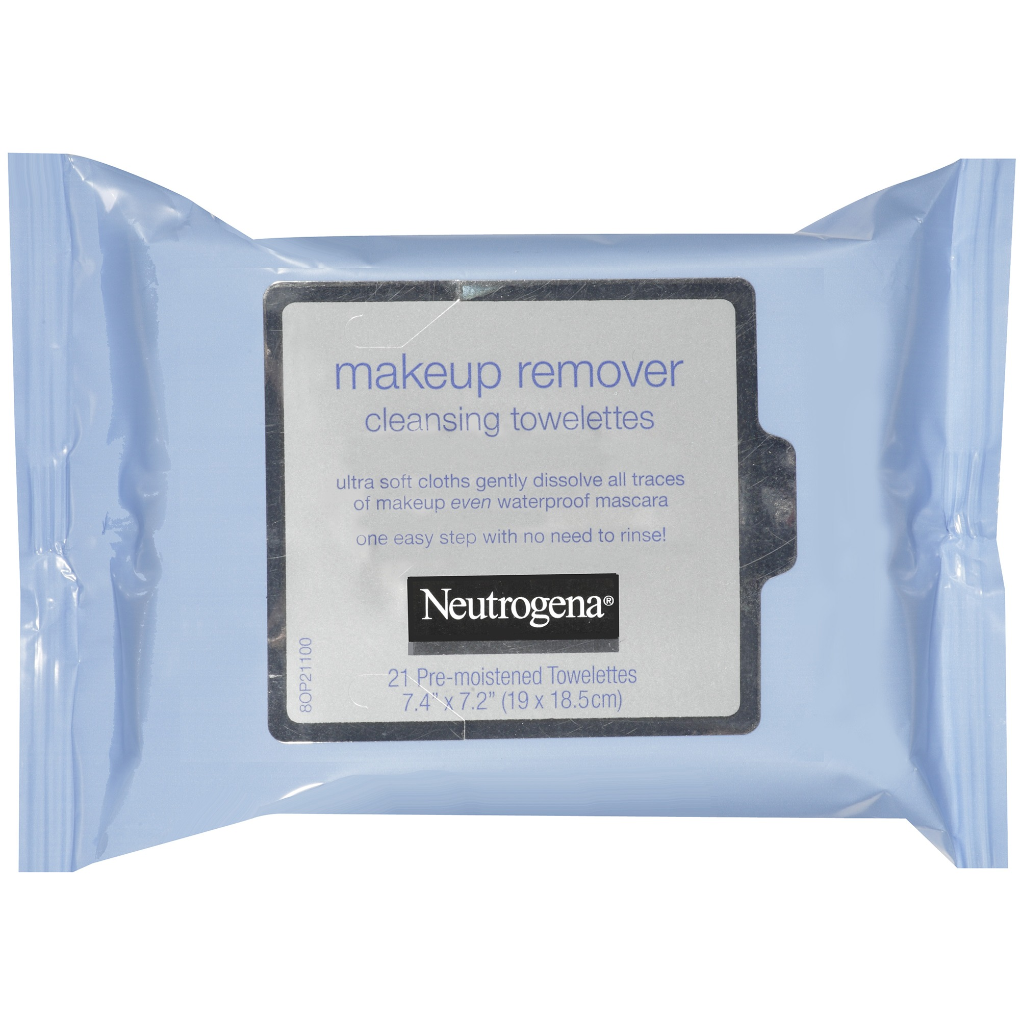 Neutrogena Makeup Remover Cleansing Towelettes & Wipes, 21 ...