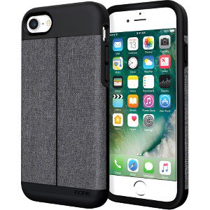 Incipio Wallet Case Esquire Series for iPhone 7 iPhone 6 6S Heather Dark