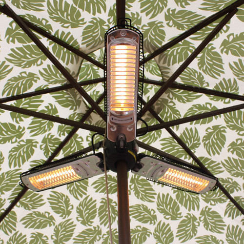 Merveilleux Hiland Parasol Electric Patio Heater