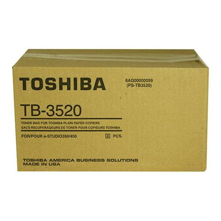 Toshiba TB3520 E-studio350/352/353/450/452/453 Waste Toner Bags [4 Bags/ctn]