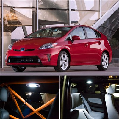 7-Piece Toyota Prius Interior Package LED Lights Kit 2004-2012 ...