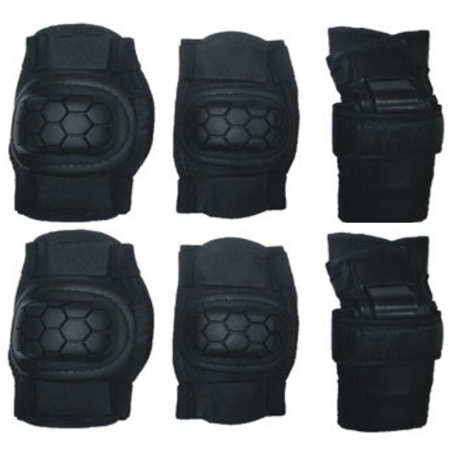 Knee & Elbow Pads Adult Protective Pad Set Legends Of The Hidden Temple Costume - Temple Guard Legends Of The Hidden Temple