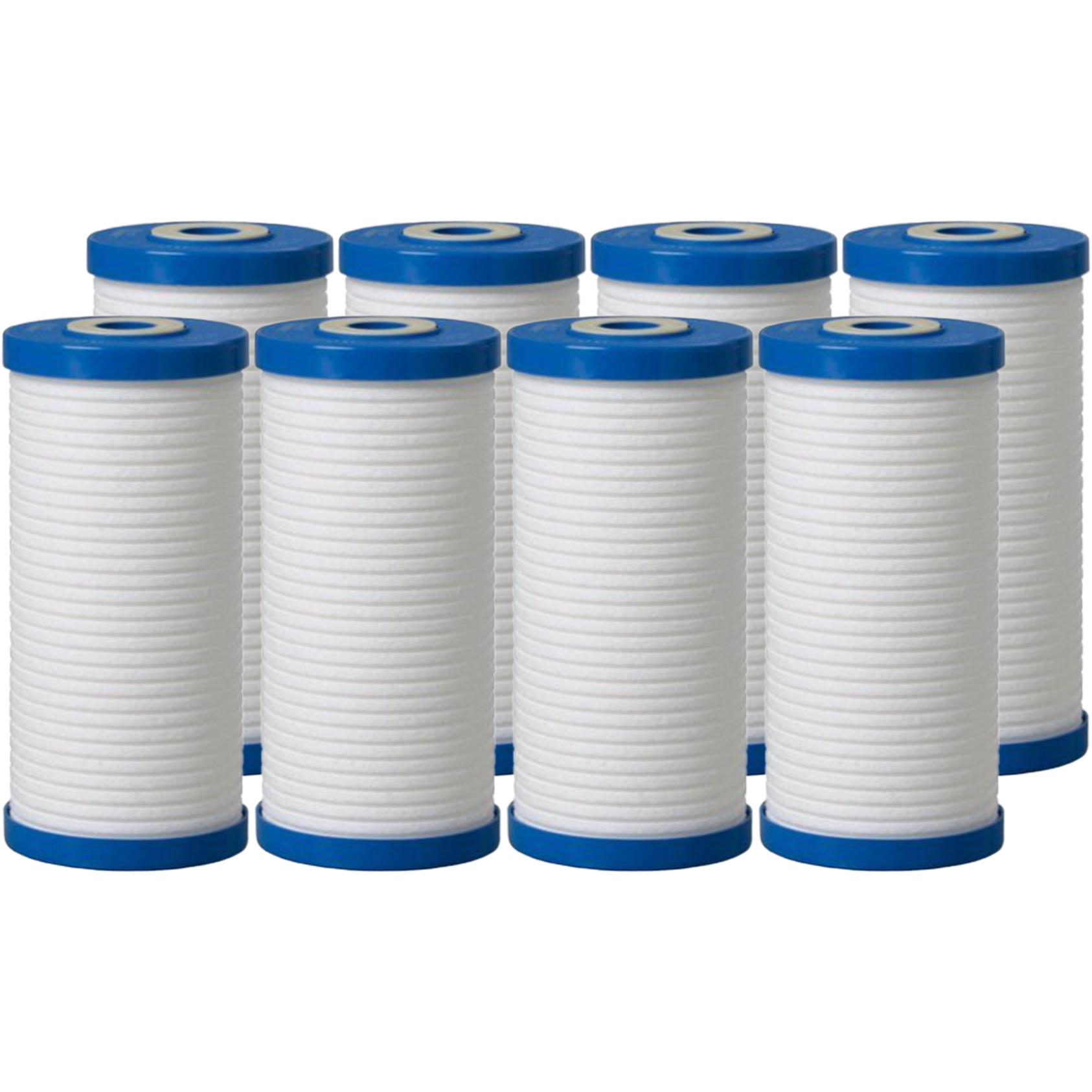 SpiroPure Replacement for Aqua-Pure AP810 5618902 10x4.5 Water Filters 8 Pack