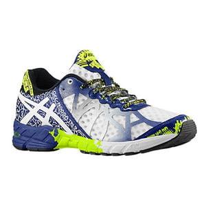 buy popular cc229 43e30 ASICS Men s Gel-Noosa Tri 9 Running Shoe,White Navy Flash Yellow
