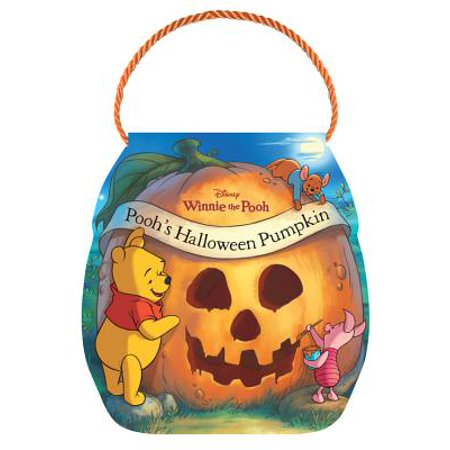 Poohs Halloween Pumpkin (Board Book)