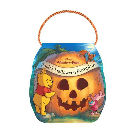 Poohs Halloween Pumpkin (Board Book)](Halloween Mini Books)