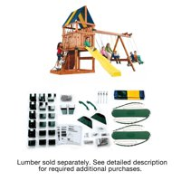 Swing-N-Slide Alpine Swing Set Hardware Kit (Wood and Slide not included)