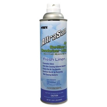 Sanitizer Deodorizer (Misty 1037236EA 10 oz Altrasan Air Sanitizer & Deodorizer Fresh Linen Aerosol Spray)