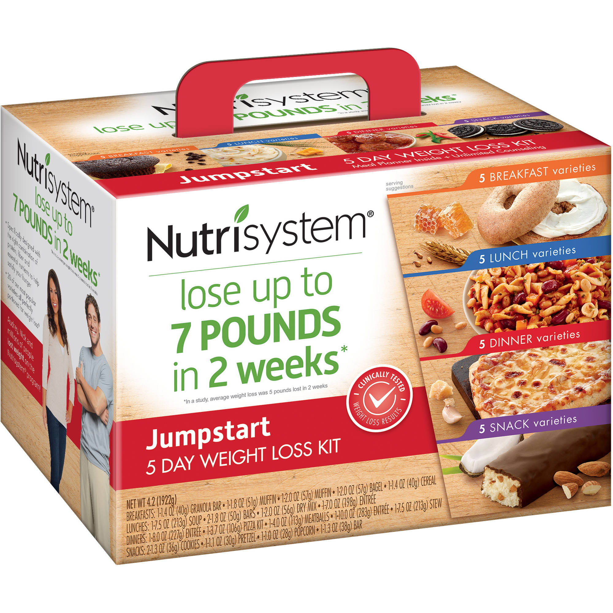 Nutrisystem 5 Day Jumpstart Weight Loss Kit