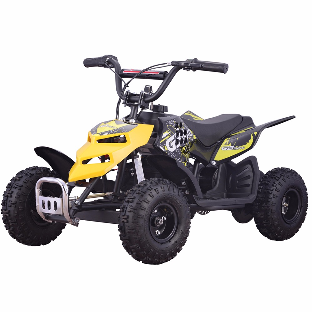 Monster Insect 24V 250W Electric Quad Battery-Powered MINI ATV Kid Ride-on Yellow by