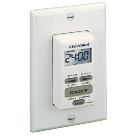 Sylvania SA160 20 Amp Dual Mode 24-Hour/60 Minute Digital Auto Shut Off Timer