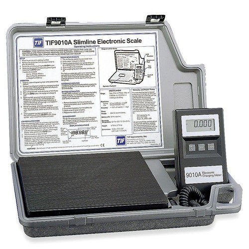 TIF instruments 9010A Slimline Refrigerant Electronic Scale
