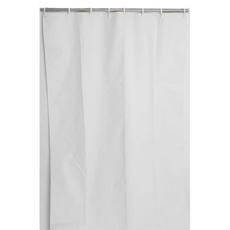 CSI Bathware Assure Vinyl Commercial Single Shower Curtain