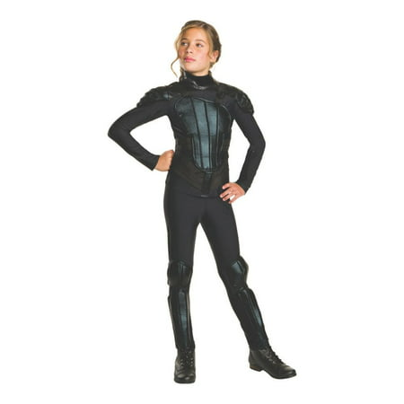 The Hunger Games Mockingjay Part 1 Deluxe Katniss Teen Halloween Costume - Express Post Costumes