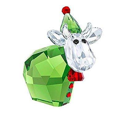 Swarovski Santas Helper Mo  Limited Figurine