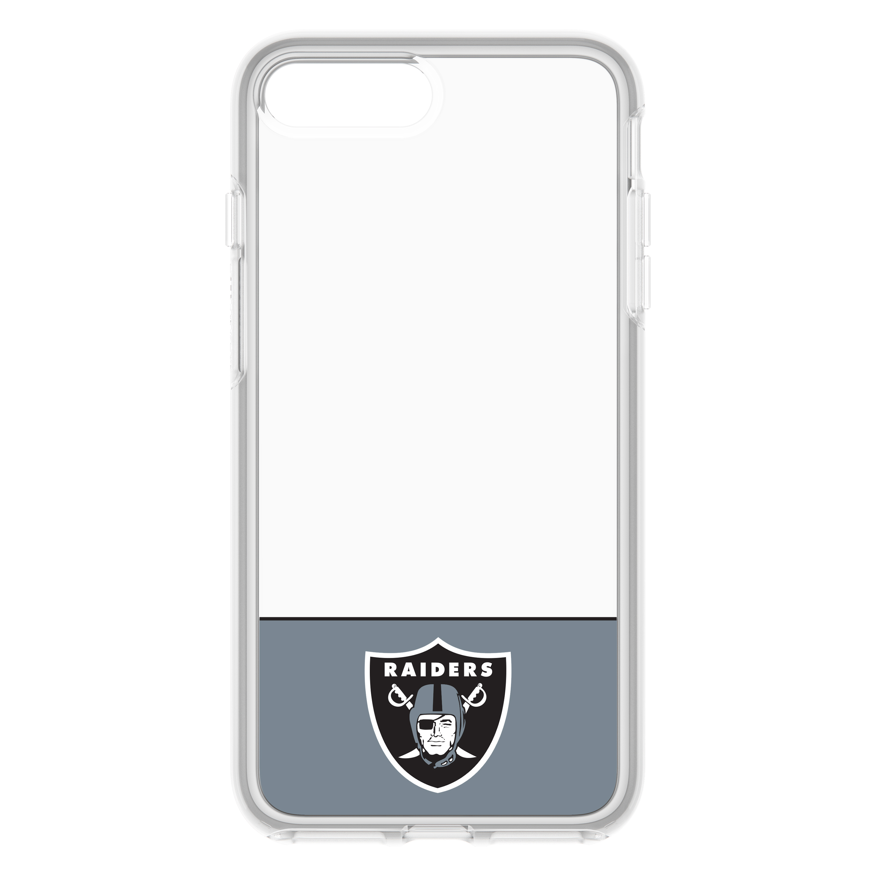 on sale 5f1ef 33138 OtterBox NFL Symmetry Clear Series Case For iPhone 8 / 7, NFL Raiders