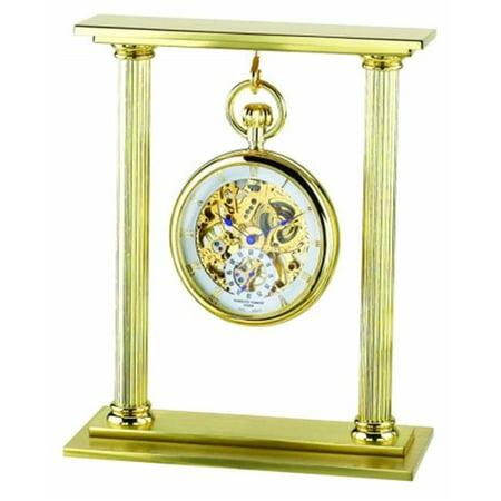 Charles-Hubert- Paris Gold-Plated Pocket Watch Stand # - image 1 de 1