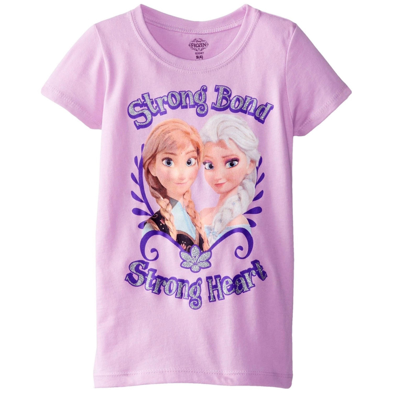 Frozen - Strong Bond Strong Heart Girls Youth T-Shirt