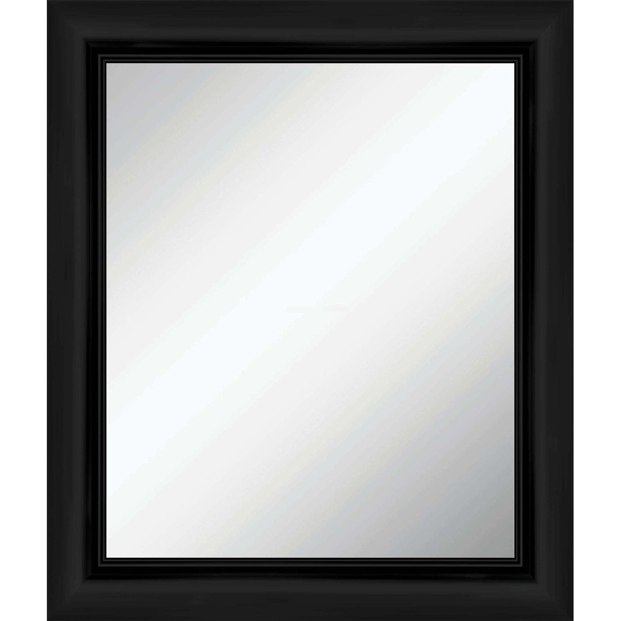 Monterrey Over-the-Sink Mirror, Black