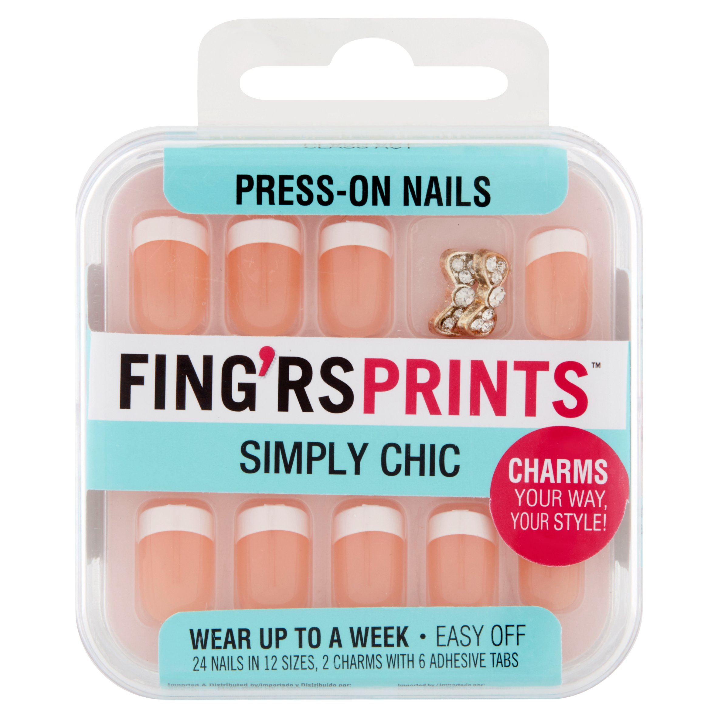 Fing'rs Prints Simply Chic Press-On Nails