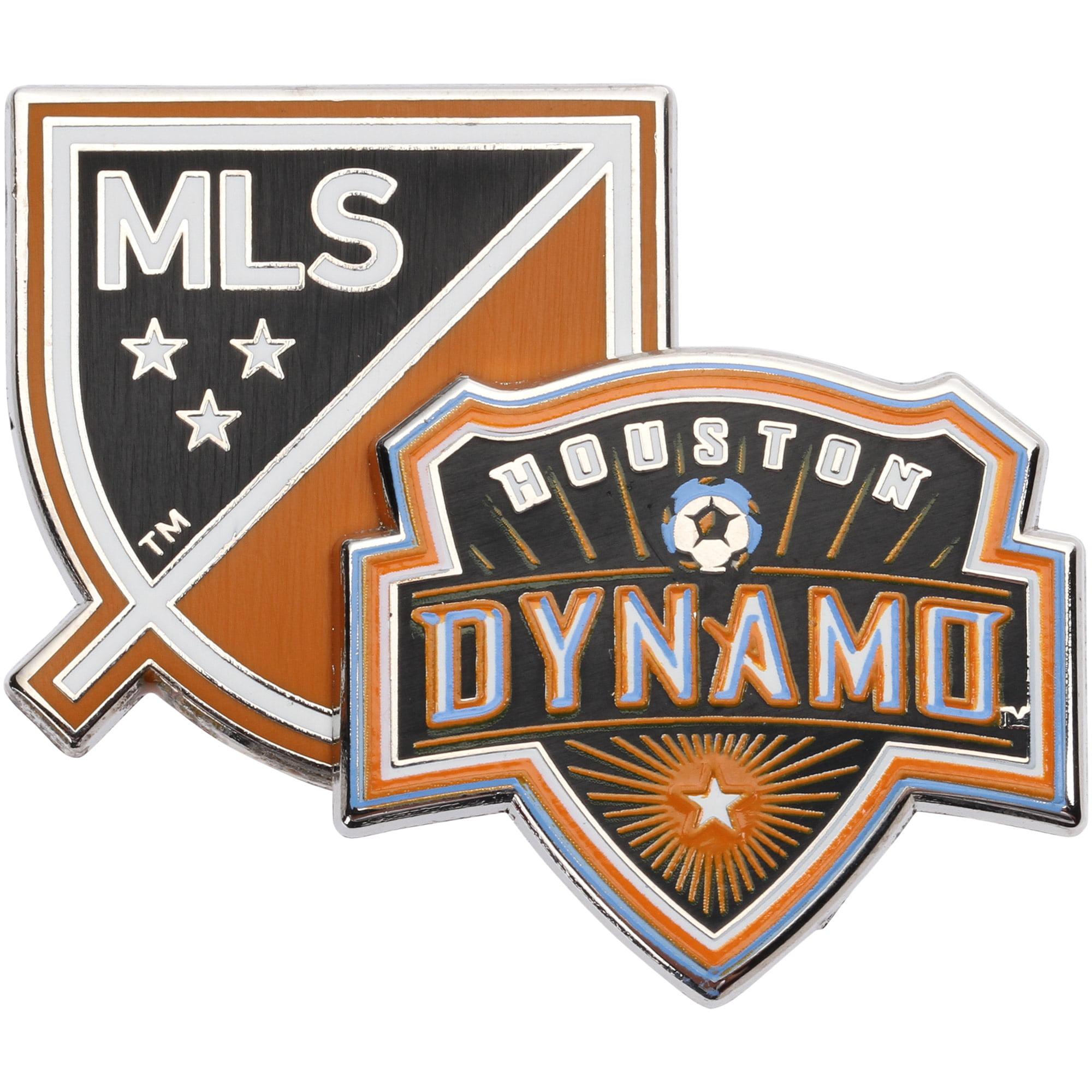 Houston Dynamo Dual Logo Pin - No Size