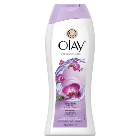 Olay Fresh Outlast Soothing Orchid & Black Currant Body Wash 23.6oz Outlaw Body Kit