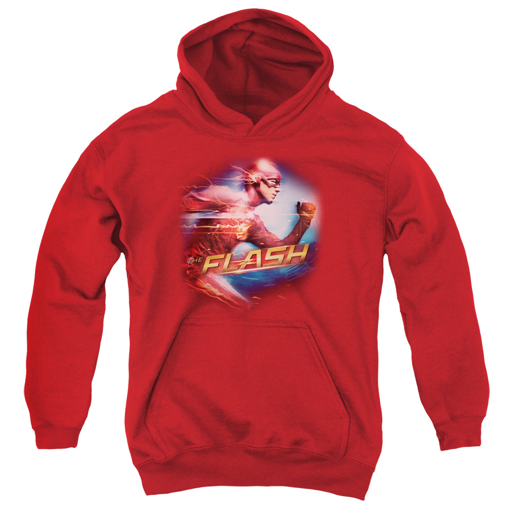 The Flash Fastest Man Big Boys Pullover Hoodie