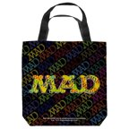 Mad So Much Mad Tote Bag White 9X9