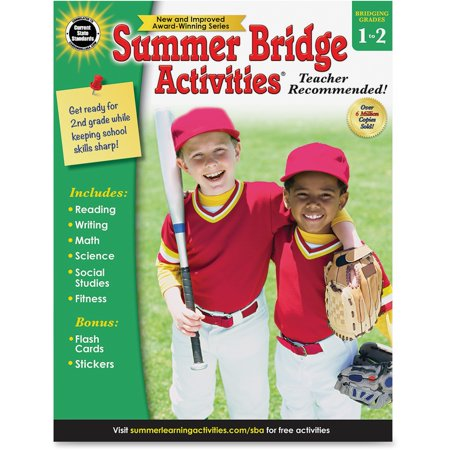 Summer Bridge Grade 1-2 Activities Workbook (Halloween Activity For First Grade)