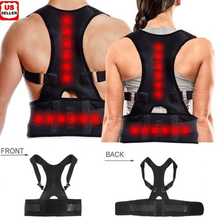 Magnetic Therapy Posture Corrector Body Back Pain Brace Shoulder Support