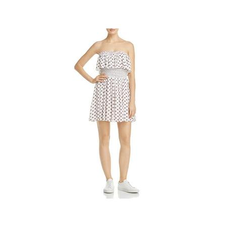 Jack Womens Printed Strapless Mini Dress](Union Jack Dress)