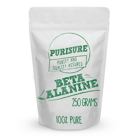 Purisure Pure Beta Alanine Powder, 334 servings