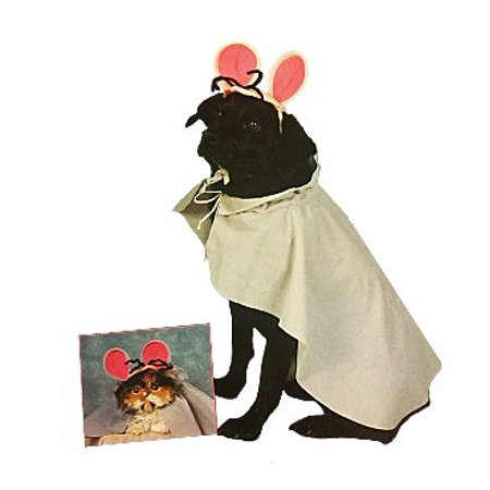 Cat And Mouse Costume (Mouse Pet Costume, Medium)