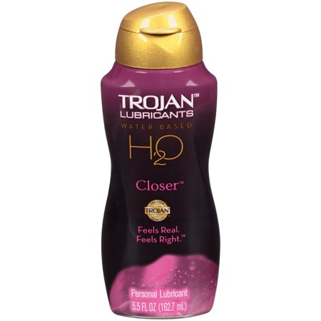 Water Based Lubricants Online (Trojan Lubricants H2O Closer Personal Lubricant, 5.5 FL OZ )