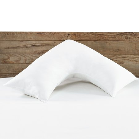 Beautyrest Boomerang Pillow with 100% Cotton Removable Cover (Beautyrest Cotton Pillow)