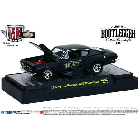M2 Machines Bootlegger Release 2 1:64 1968 Plymouth Barracuda HEMI Super Stock