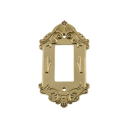 Nostalgic Warehouse Victorian Light Switch Plate
