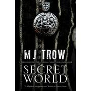 Kit Marlowe Mystery: Secret World: A Tudor Mystery Featuring Christopher Marlowe (Hardcover)(Large Print)