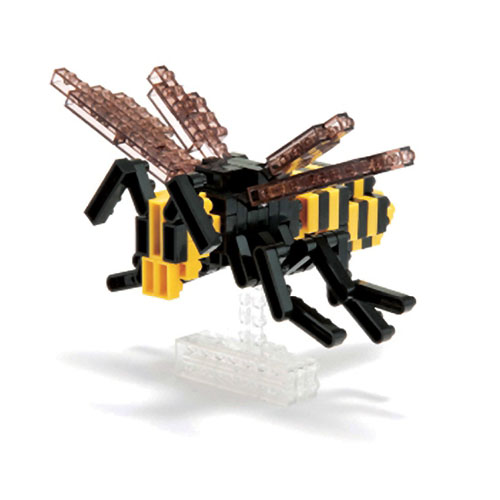 Asian Giant Hornet 130 Piece Nanoblock Puzzle by Schylling